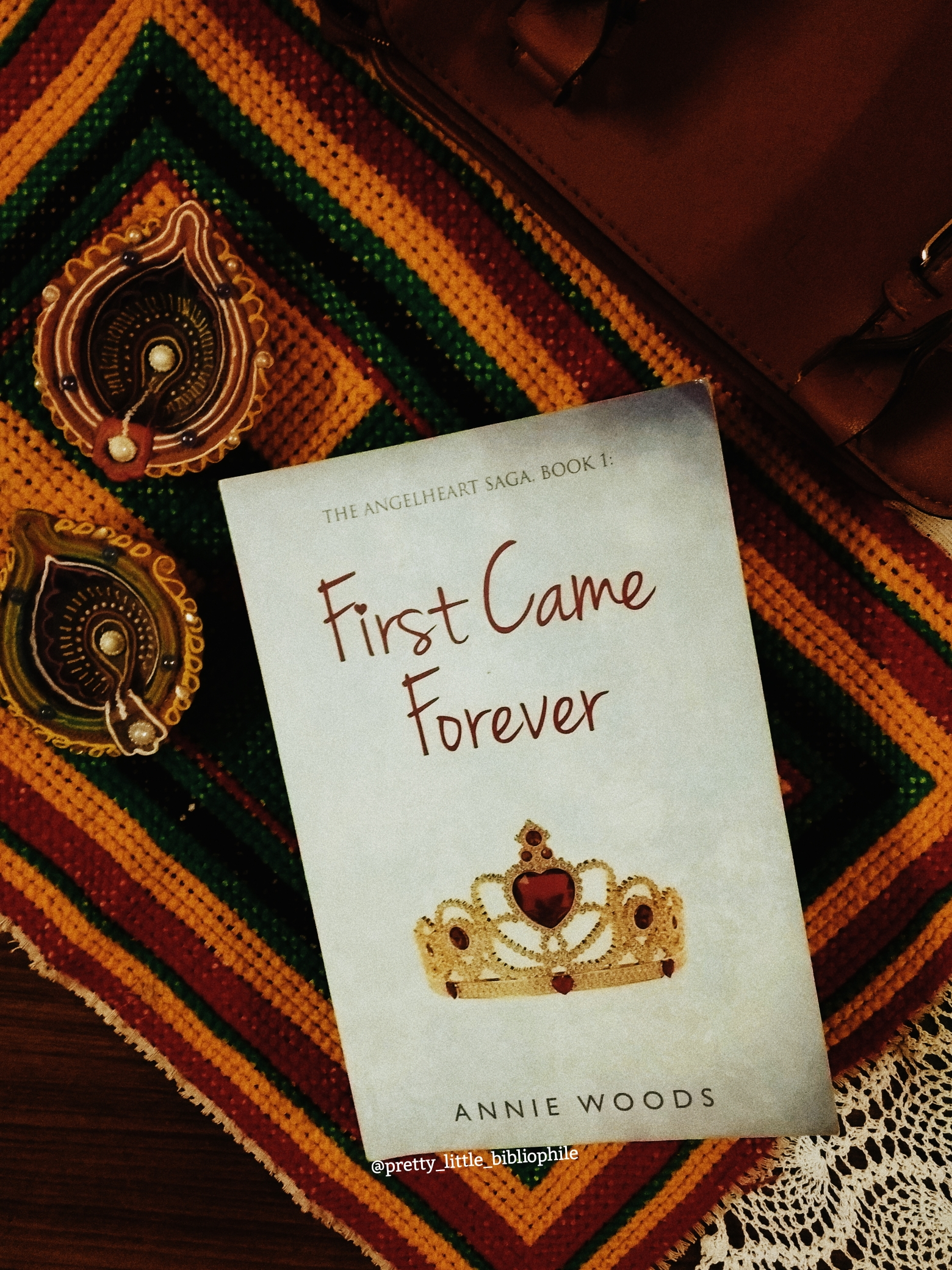 First Came Forever (The Angelheart Saga I), Annie Woods, 2017