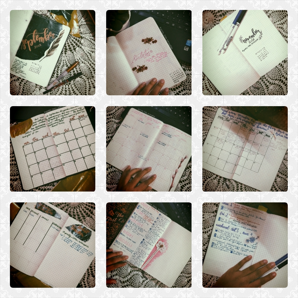 Time management and bullet journaling
