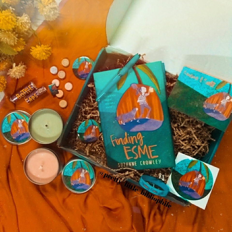 Finding Esme, by Suzanne Crowley, Unboxing
