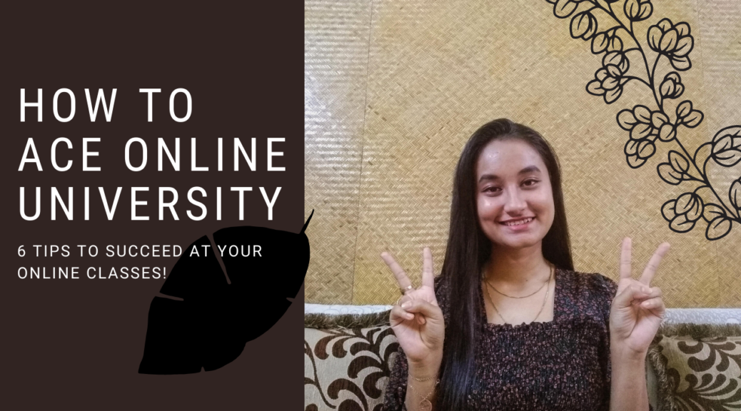 How to ace online university