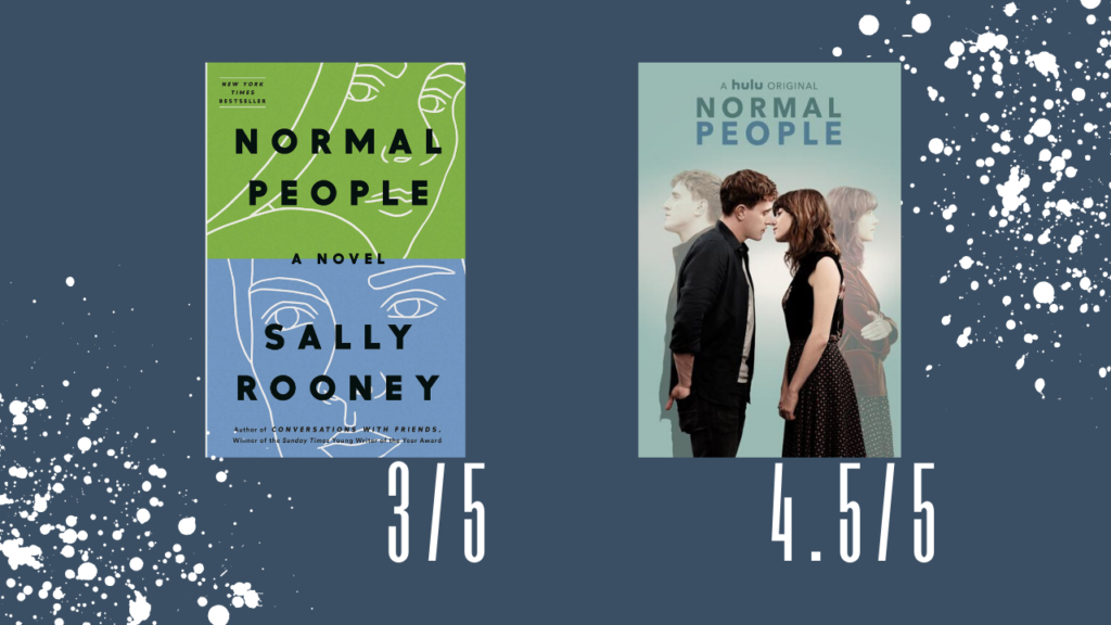 Normal People by Sally Rooney: my ratings!