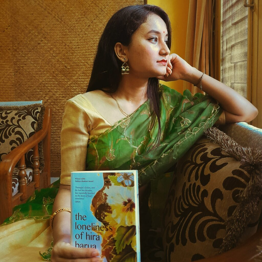 The Loneliness of Hira Barua, Books-as-Outfits Challenge