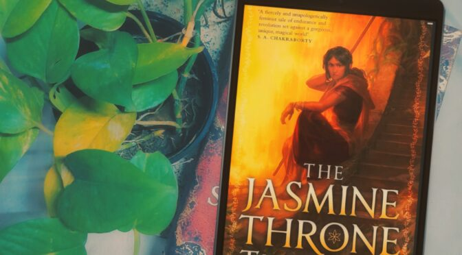 The Jasmine Throne: Blog Tour and Review